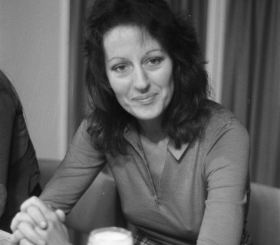 Black & White Photo of Germaine Greer Circa 1972