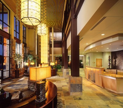 photo of Newpark resort lobby