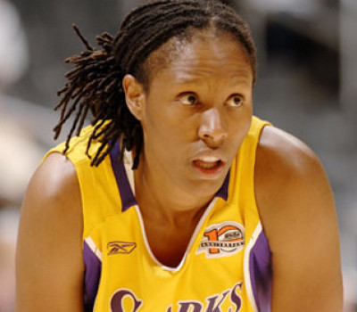 Photo of Chamique Holdsclaw in Sharks Team Uniform