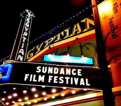 Sundance Film Festival Billing on Egyptian Theater Marquee