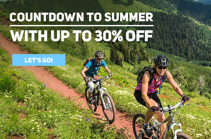 countdown to summer with 30% off