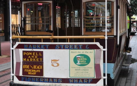 Powell & Market Street Cable Car