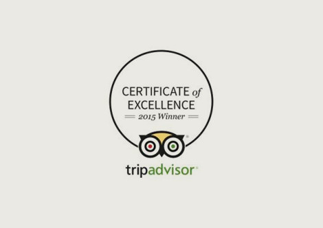 Ocean View Hotel Press Awards Trip Advisor 2015