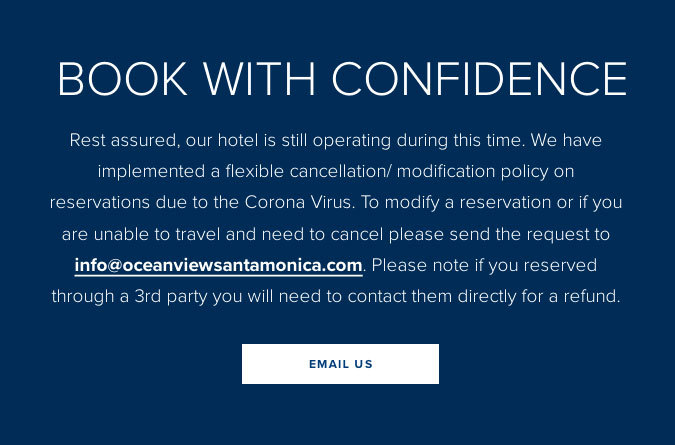 OCEANVIEW Cancellation/modification