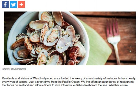 Grafton on Sunset: Best Seafood Restaurants in West Hollywood
