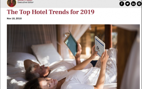 The Top Hotel Trends for 2019