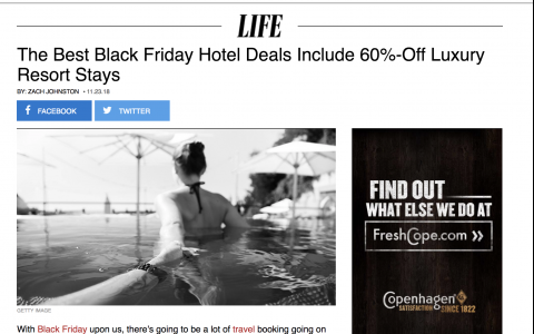 The Best Black Friday Hotel Deals