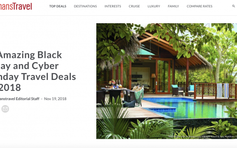 The Best Black Friday Hotel Deals Include 60%-Off Luxury Resort Stays