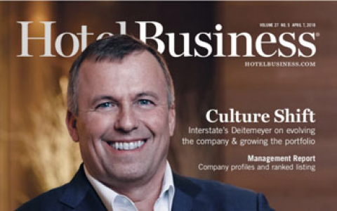 cover of hotel business magazine featuring ols