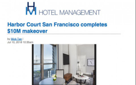 Harbor Court San Francisco Completes $10m makeover
