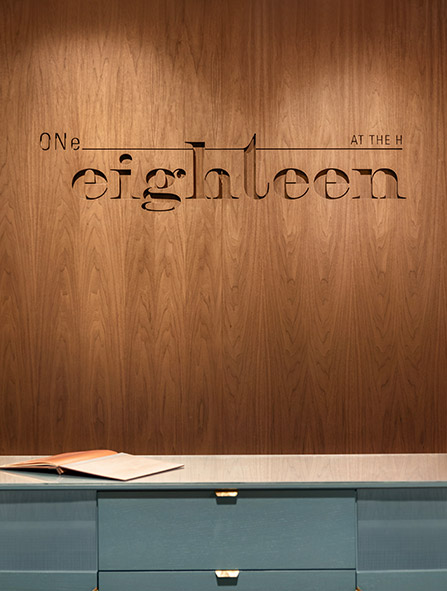 ONe Eighteen Entrance