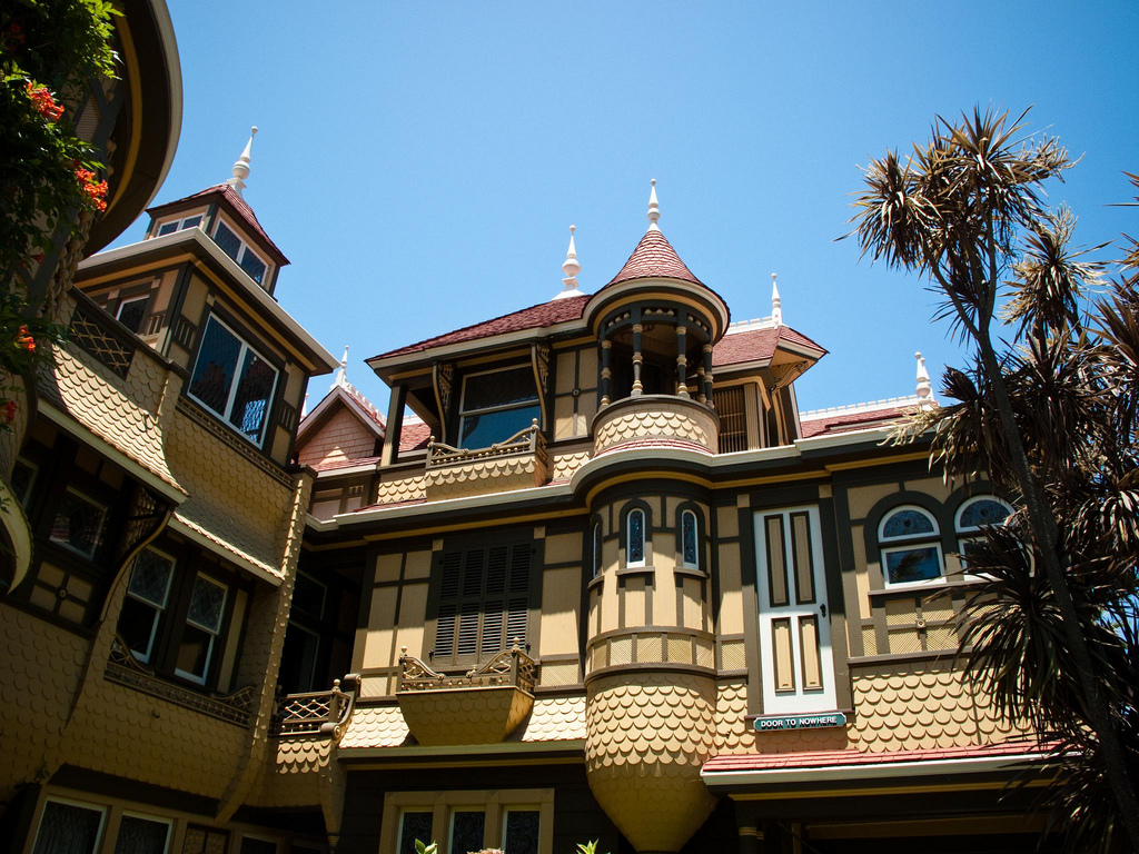 Top Angled Photo of Winchester House