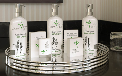 Organic bathroom amenities