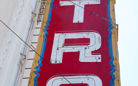 Castro Theater Sign