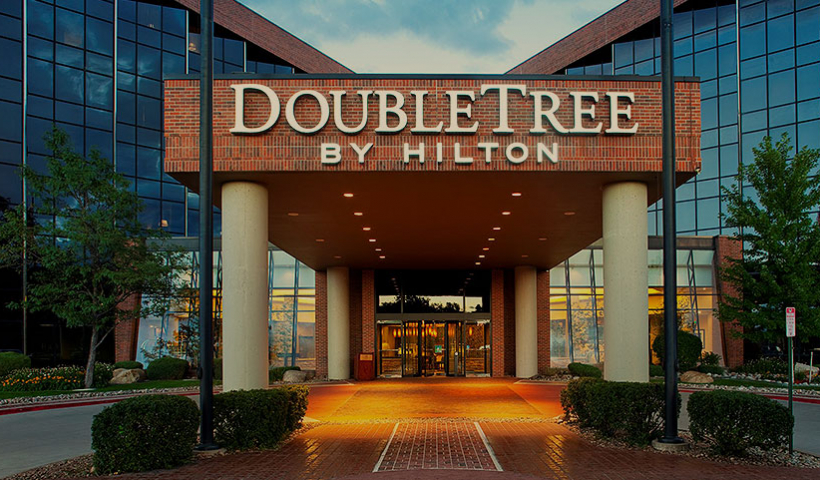 DoubleTree by Hilton exterior front entrance