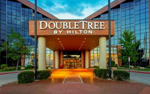 DoubleTree by Hilton building exterior