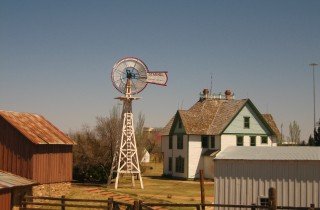 Windmill at National Ranching Heritage Center