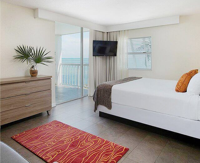 Ocean view rooms with private balconies