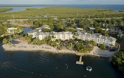 Areal View of Pelican Cove