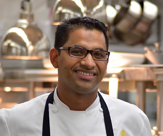 headshot of chef