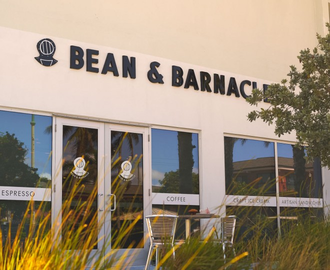 bean and barnacle entrance
