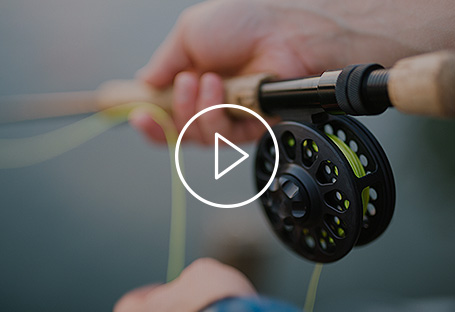 Fishing pole close up video thumbnail