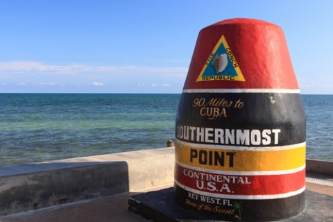 the southernmost point of us mile marker 0