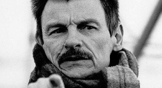 Black & White Photo of Russian Filmmaker Andrei Tarkovsky