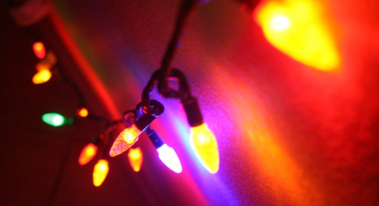 String of Holiday Lights