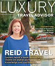 luxury travel advisor mag cover