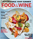 Food & Wine mag cover