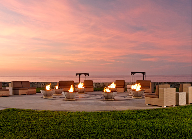 Fire & Ice Pit Oceanfront Martini Bar
