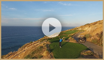 Golf Video Play button