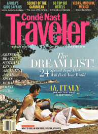 Image Conde Nast Traveler: The Dream List