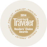 Condé Nast Traveler Reader's Choice Awards Image