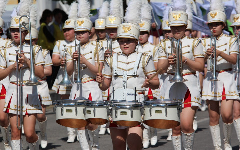 All Girl Marching Band