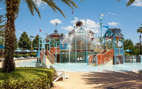 waterpark jungle gym