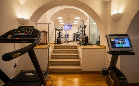 luxe rose garden fitness center