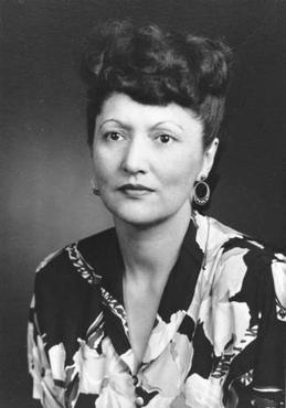 black and white photo of elizabeth peratrovich