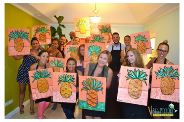 PAINT. SIP. MINGLE. and HAVE FUN! Inset