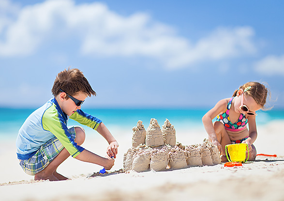 Sandcastle-Making and Beach Combing Inset