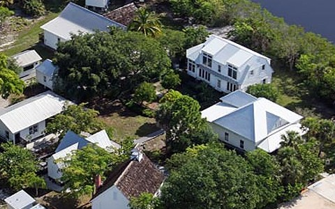 Sanibel Historical Museum from above