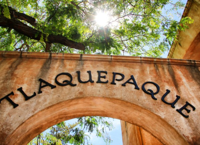 arch at the tlaquepaque shopping area in sedona arizona