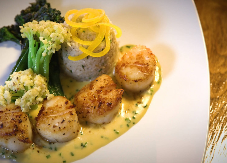 scallops entreee