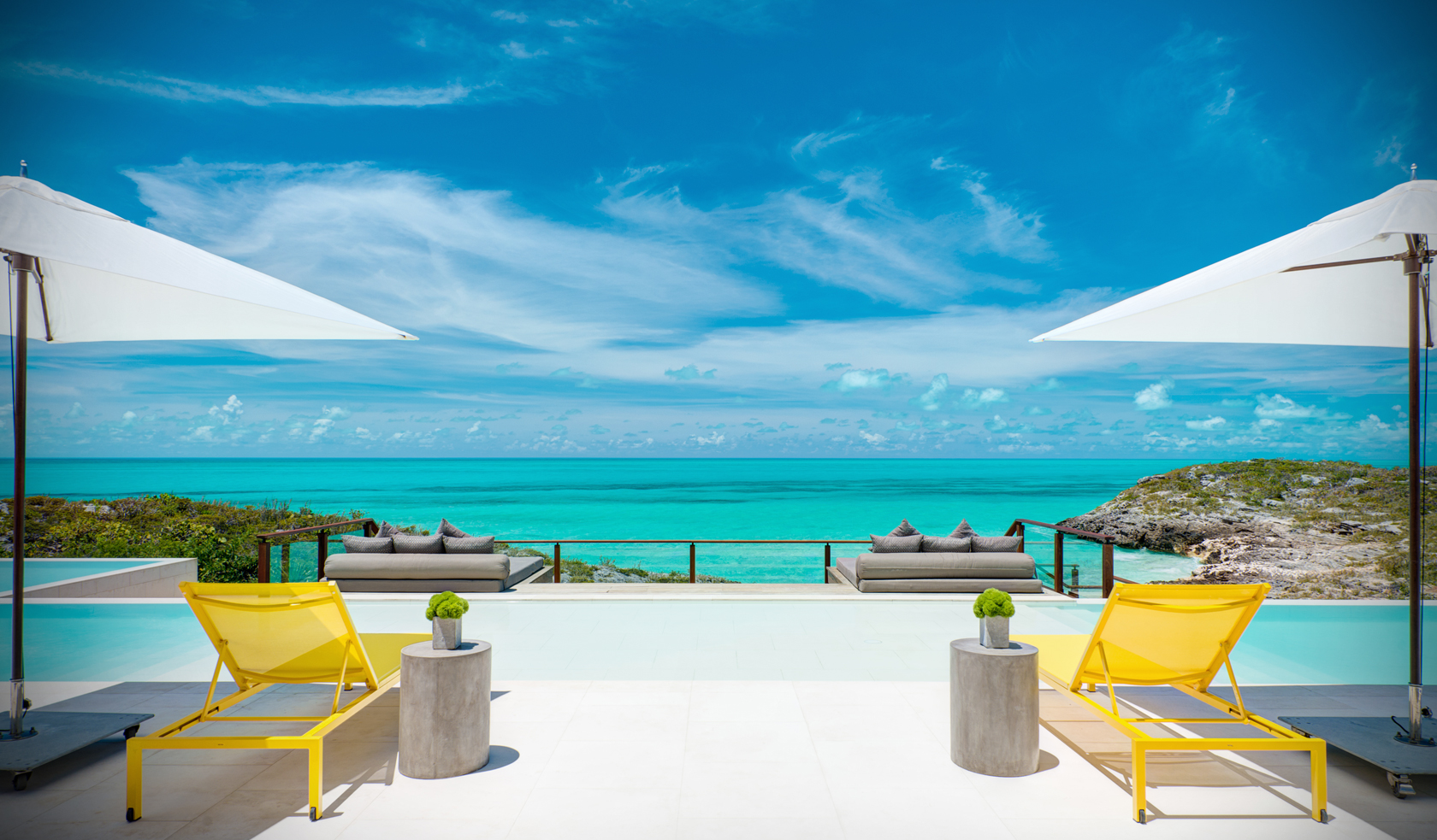 Turks and caicos villas at seven stars grace bay for Five star turks and caicos