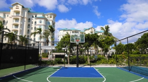 Basketball Court on Property