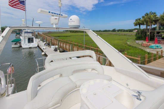 shem creek yacht deck