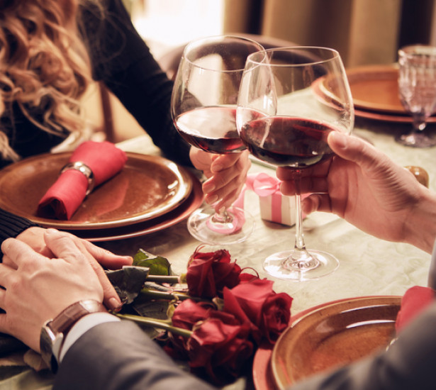 Have a Romantic Valentine's Dinner with Us