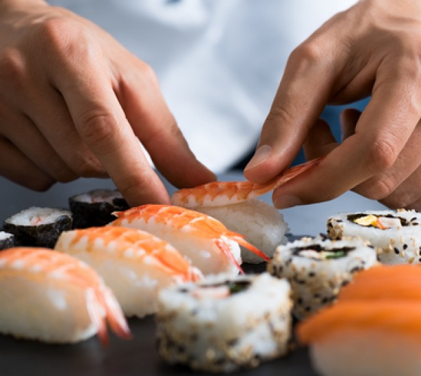 Learn to Roll Like a Pro with our Monthly Sushi Classes