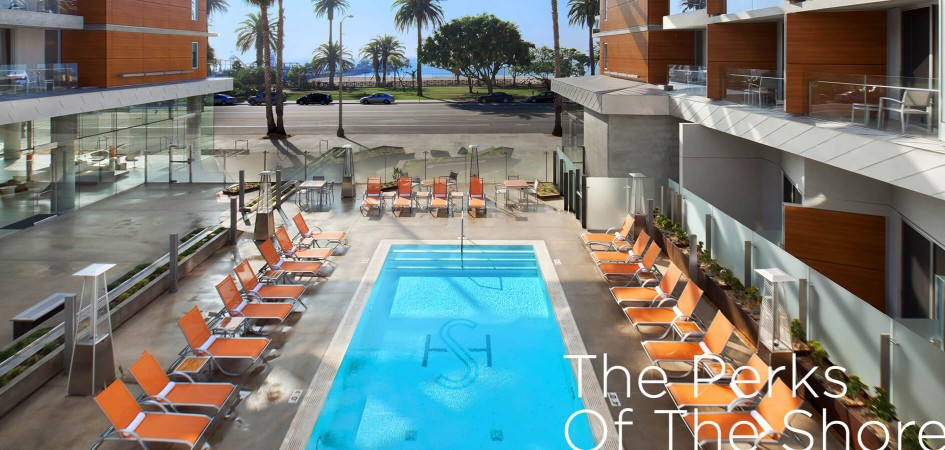SHORE hotel outdoor heated pool